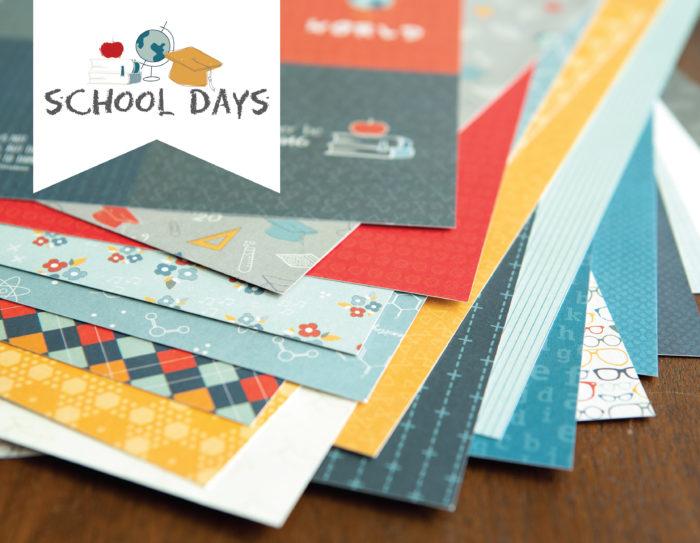 School Days Double Layout Paper Kit Shop Image