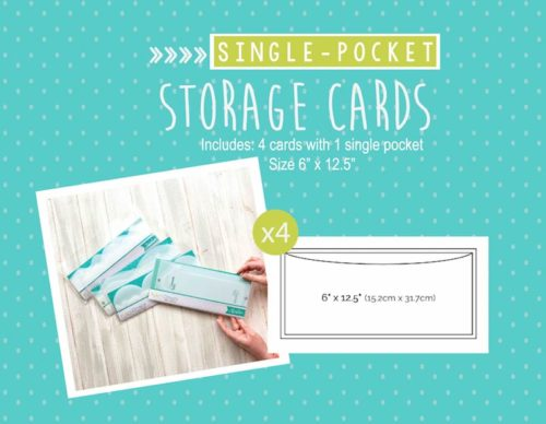 single pocket storage card shop image