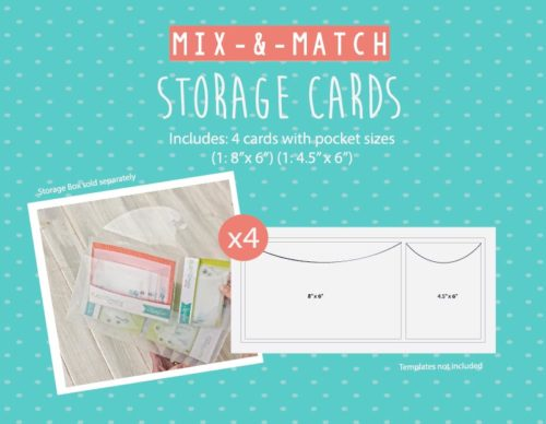 Mix-n-Match Storage Cards Shop Image