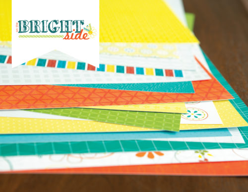on the bright side double paper layout kit shop image