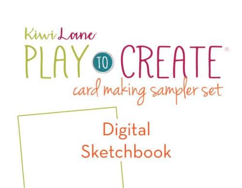 digital card making sketchbook shop image