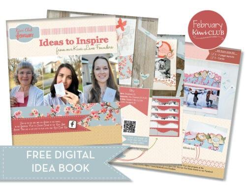 February 2021 Free PDF Ideas to Inspire Digital Idea Book Shop Image