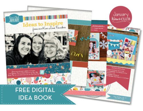 January 2021 Ideas to Inspire Free PDF Digital IDea Book PDF Shop Image
