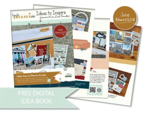 June 2021 Kiwi Club Digital Ideas to Inspire PDF Shop Image