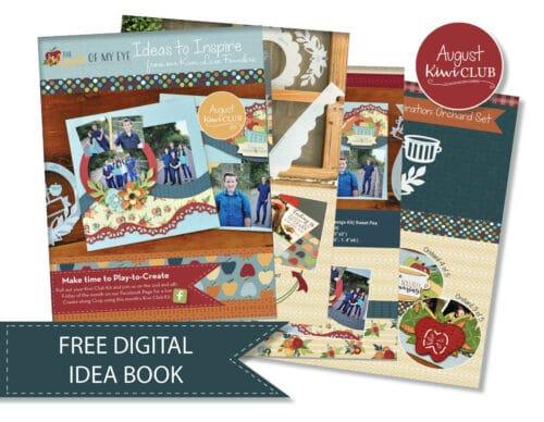 August 2021 Digital Idea Book Kiwi Club Shop Image